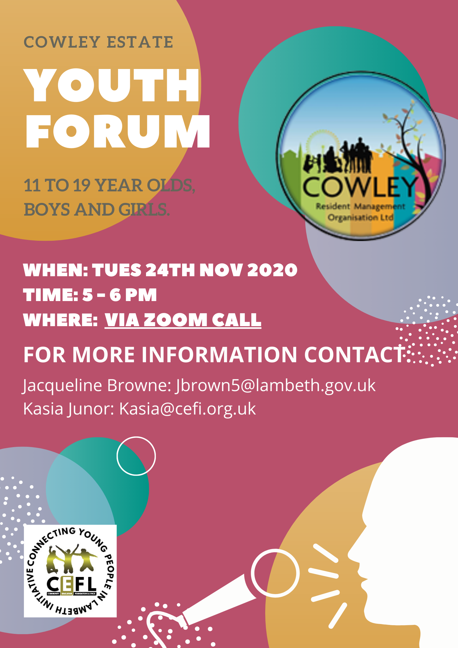 Cowley Youth Forum